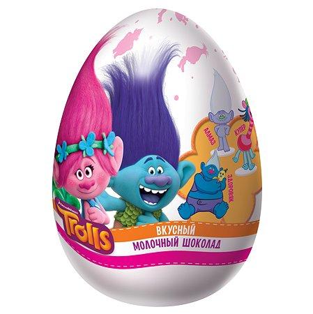 Шоколадное яйцо Конфитрейд Троли с сюрпризом 70г в ассортименте