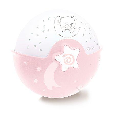 Ночник-проектор INFANTINO Розовый 004908