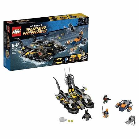 Конструктор LEGO Super Heroes Погоня в бухте на Бэткатере (76034)
