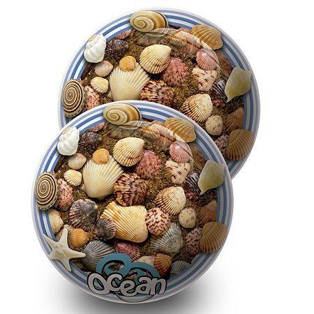 Мяч Unice Морские обитатели 23 см в ассортименте