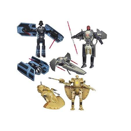 Фигурки-трансформеры Star Wars Star Wars Звёздные войны Делюкс 20 см в ассортименте