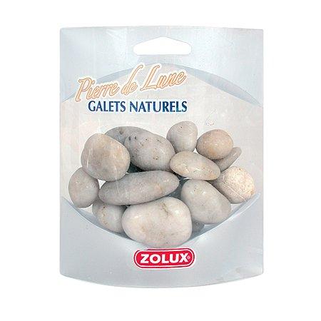 Декорация для аквариумов Zolux Галька Лунный камень 350г