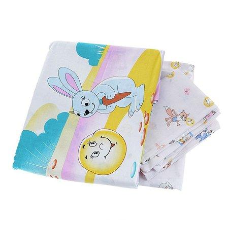 Комплект в кроватку Baby Nice 6 пр.Сказки - Колобок в ассортименте