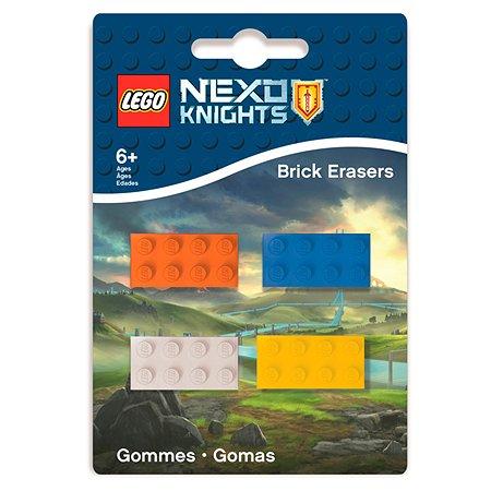 Набор ластиков LEGO 4 шт
