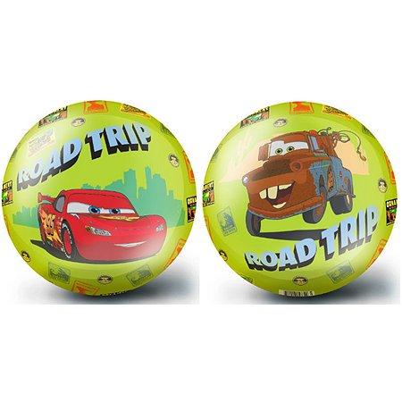 Мяч FRESH-TREND 23 см Тачки салатовый