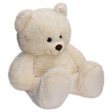 Мягкая игрушка Laffi Медвежонок кремовый 85см