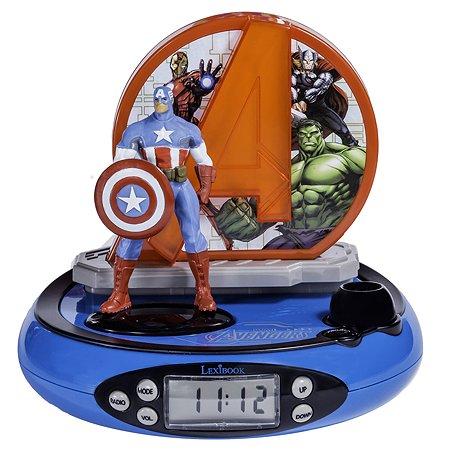 Часы-будильник-проектор Lexibook Мстители