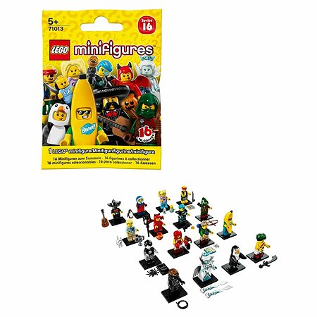 Конструктор LEGO Minifigures Confidential Minifigures Sept. 2016 (71013)