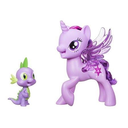Набор My Little Pony Поющая Твайлайт Спаркл и Спайк