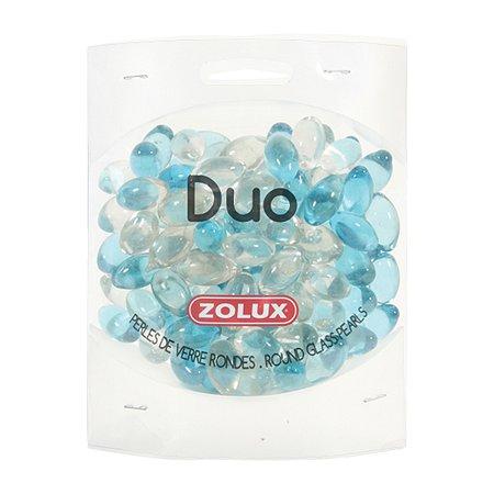 Декорация для аквариумов Zolux стеклянная Дуо Голубой-Прозрачный 472г