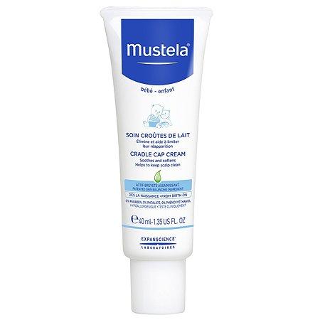 Крем для кожи головы Mustela Bebe при молочных корочках 40мл