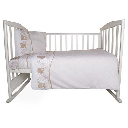 Комплект постельного белья Эдельвейс Кармашки 3предмета 10055