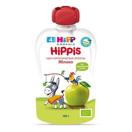 Пюре Hipp яблоко 100 г с 6 месяцев пауч