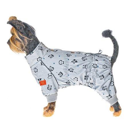 Комбинезон Happy Puppy Панда 4 Серый