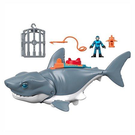 Набор игровой IMAGINEXT Акула Мощный укус GKG77