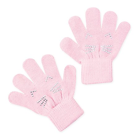 Перчатки  PlayToday розовые