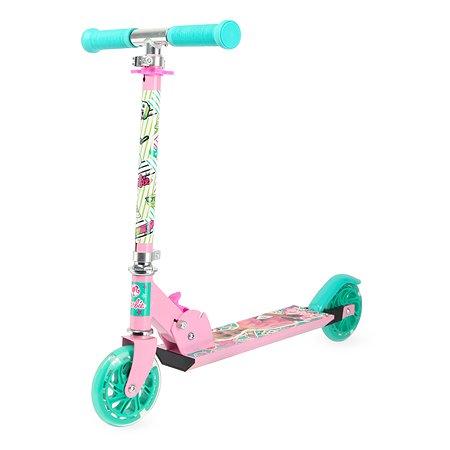 Самокат Kreiss Barbie 2 колесный HF-TB001-B