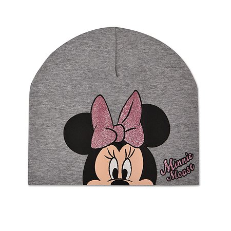 Шапка Minnie Mouse серая