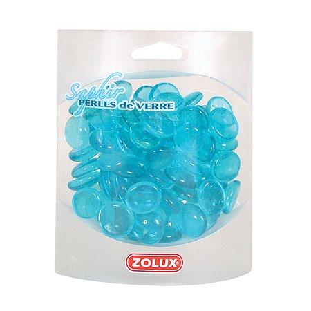 Декорация для аквариумов Zolux стеклянная Сапфир Голубой 410г