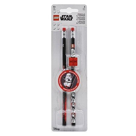 Карандаши чернографитные LEGO Star Wars Darth Vader 2шт 52214