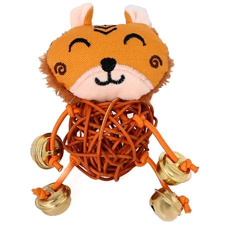 Игрушка для кошек Не один дома Leo с колокольчиком 860019-05BR1ro