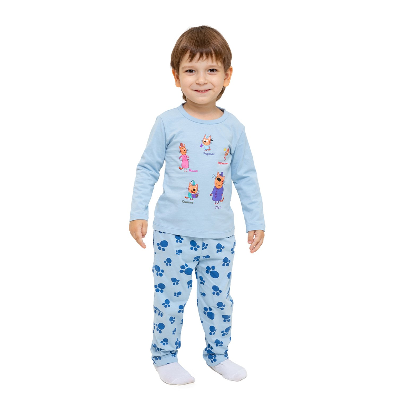 Пижама Frutto Rosso голубая