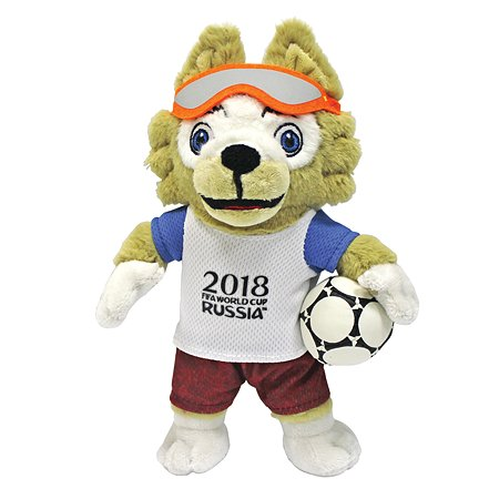 Игрушка мягкая 2018 FIFA World Cup Russia TM Zabivaka Т11250