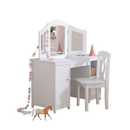 Туалетный столик KidKraft Делюкс Белый 13018_KE
