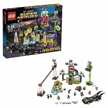 Конструктор LEGO Super Heroes Джокерленд (76035)