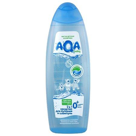 Средство 2в1 AQA baby гель и шампунь 500 мл