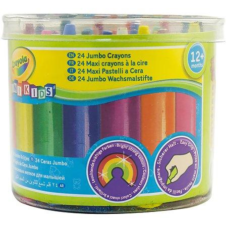 мелки Crayola восковые 24 шт