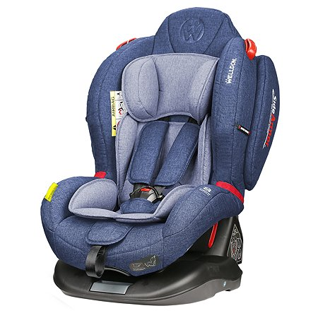 Автокресло Welldon Royal Baby Dual Fit Blue