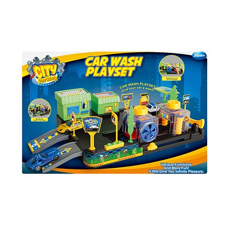 Автомойка Dave Toy с 2 машинками