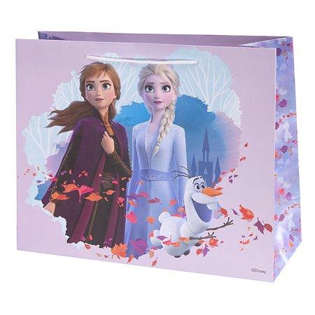 Пакет подарочный Феникс Презент Дисней Холодное сердце 32*26*13см 140г/м2 81157