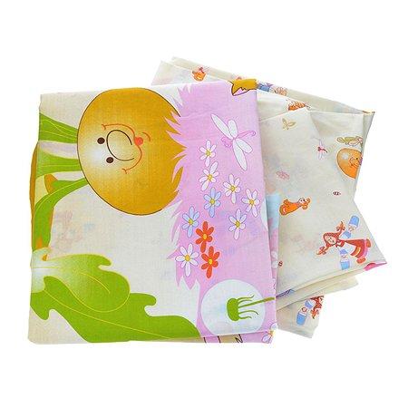 Комплект в кроватку Baby Nice 6 пр. Сказки - Репка в ассортименте