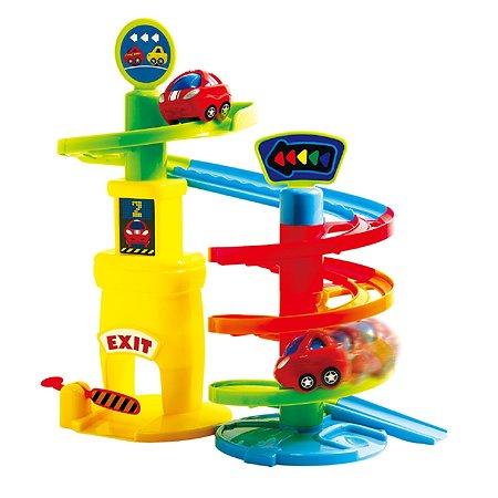 Развивающий центр Playgo Игровая парковка 1 уровень
