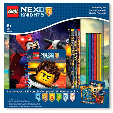 Набор LEGO канцелярский 13 шт в комплекте