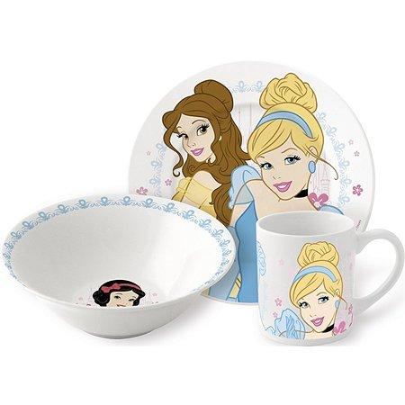 Набор керамической посуды STOR в подарочной упаковке Snack Set Strictly Princess (3 шт.)