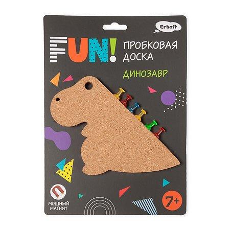 Доска пробковая Erhaft Динозавр на магните BD16003