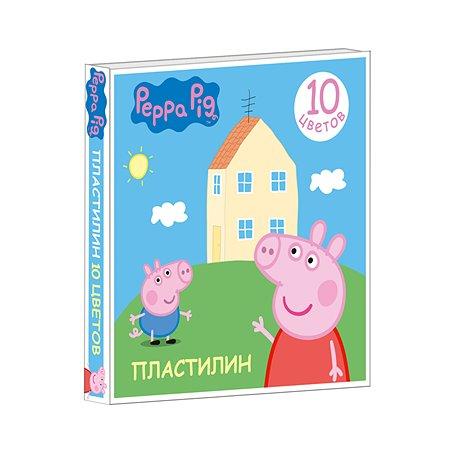 Пластилин Росмэн 10 цв. Свинка Пеппа