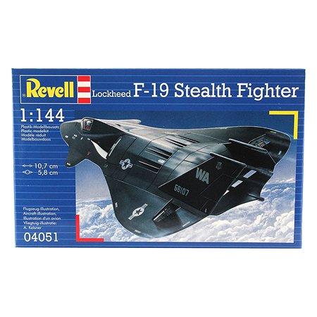Истребитель Revell F-19 Stealth 1:144