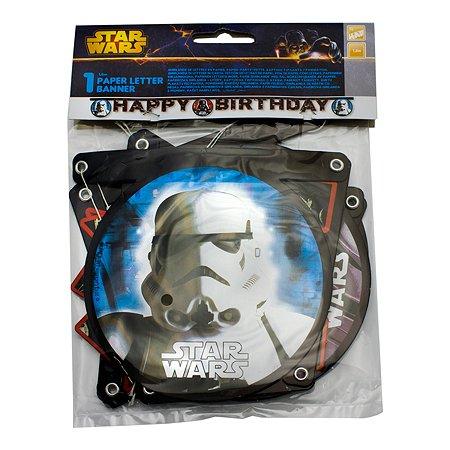 Гирлянда PROCOS Звездные Войны Happy Birthday