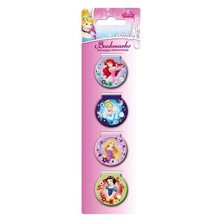 Закладки магнитные Kinderline Princess