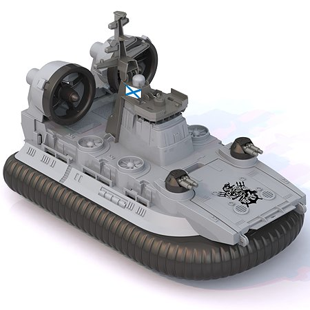 Катер-амфибия Нордпласт на воздушной подушке Кайман