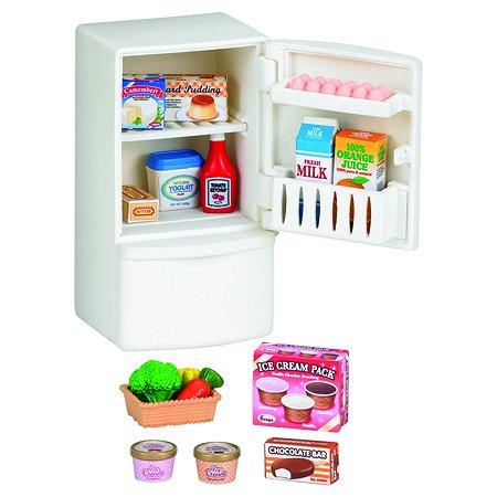 Набор Sylvanian Families Холодильник с продуктами, новый  (5021)
