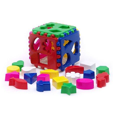Игрушка Каролина Кубик логический большой 40-0010