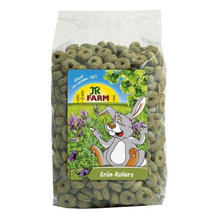 Лакомство для грызунов JR Farm Колечки зеленые 500г