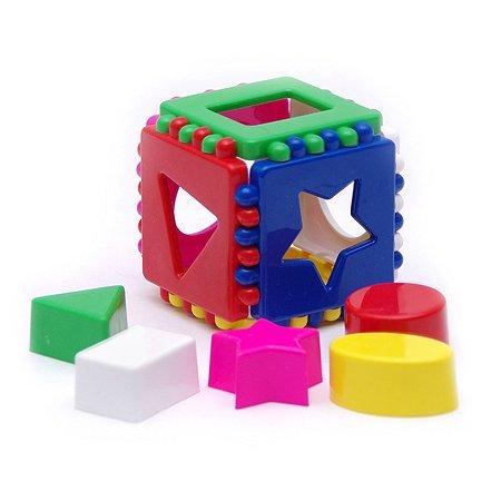 Игрушка Каролина Кубик логический малалый 40-0011