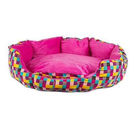 Лежанка для собак Не один дома Радужный сон M 860019-02cMU2ro