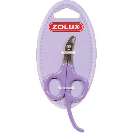 Когтерез для кошек Zolux малый Бело-фиолетовый